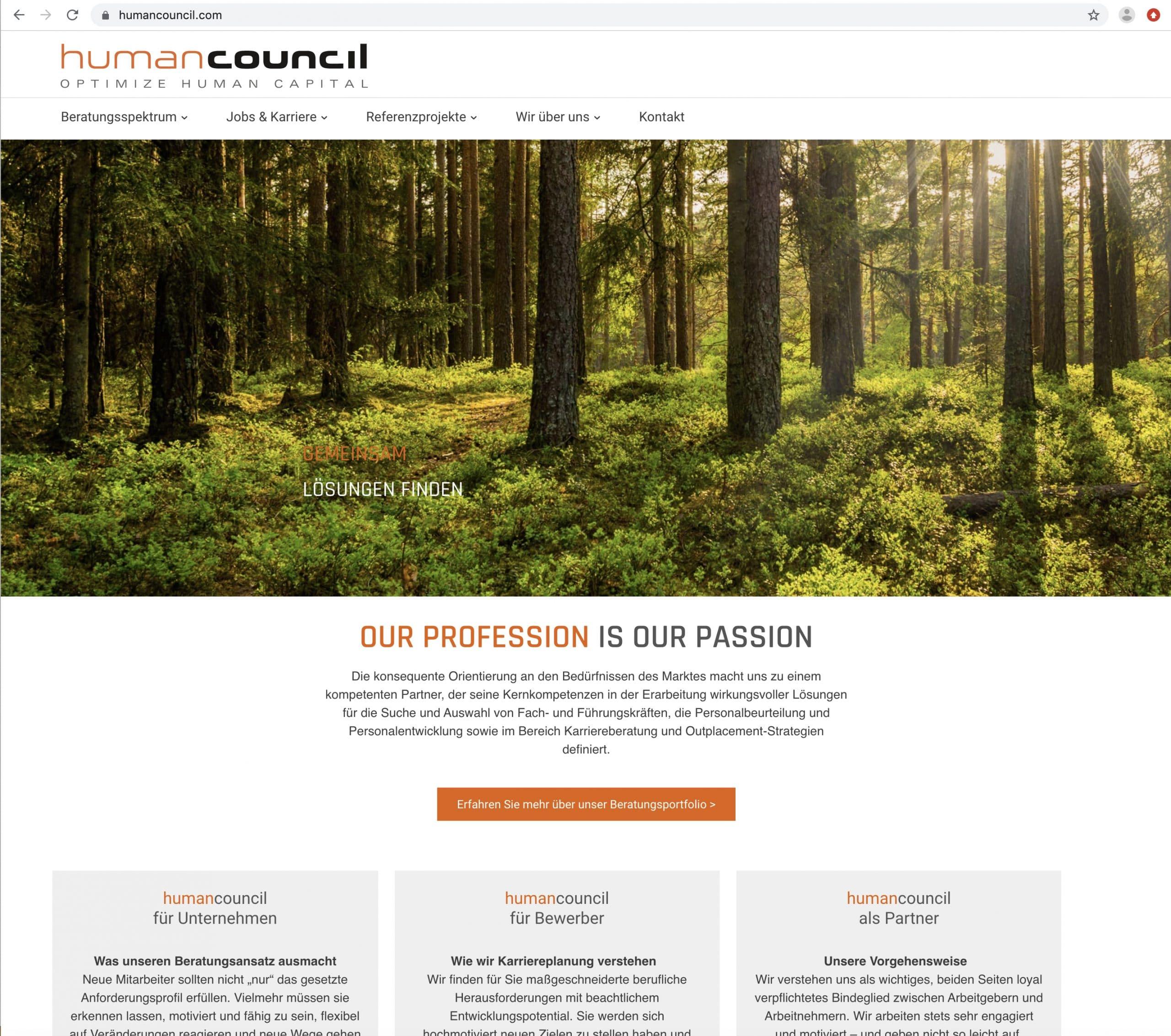 Human Council Home