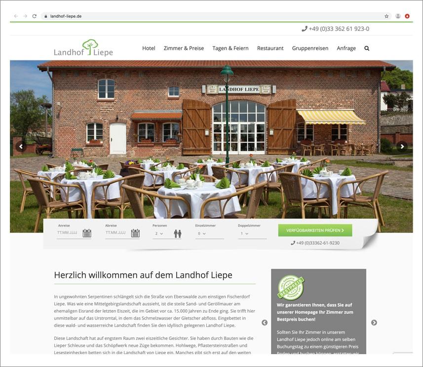 Webdesign Gestaltung Internetauftritt 2G Media & Marketing Werbeagentur Glonn Rosenheim Ebersberg München Erding