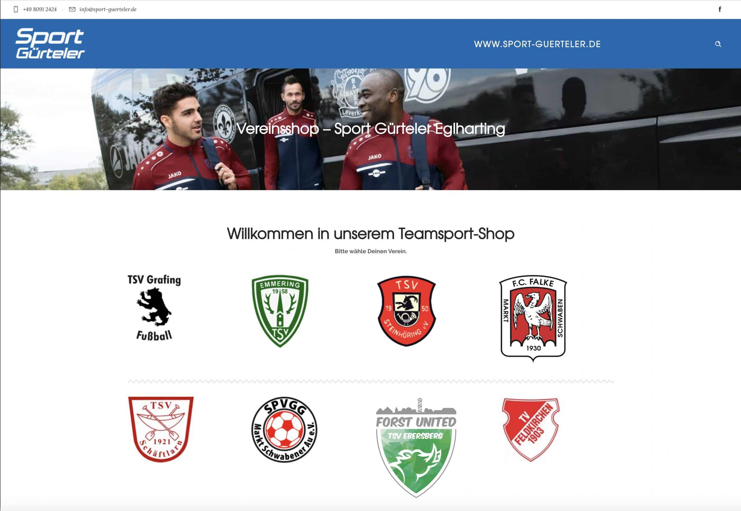 Sport Guerteler Shop